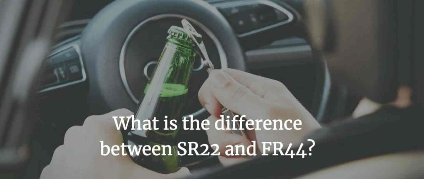 What is the difference between SR22 and FR44