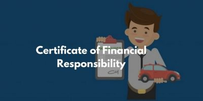Certificate of Financial Responsibility